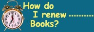 Renew Your Books
